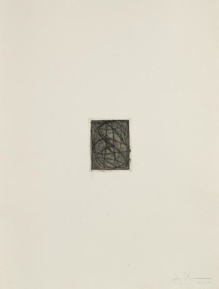 Jasper Johns-Numbers, from 1st Etchings, 2nd State, (0 through 9 ) (U.L.A.E. 96; F. 90)-1969