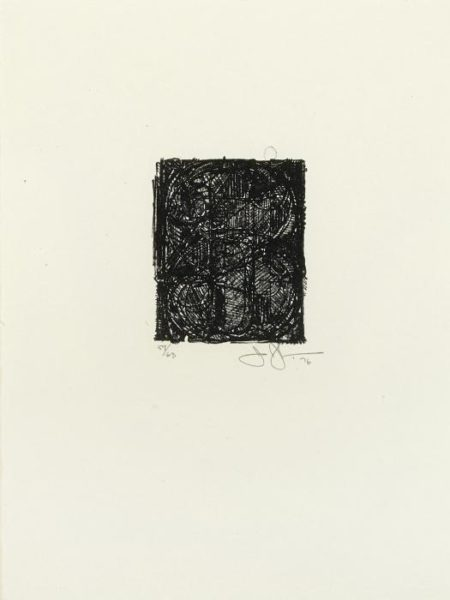 Jasper Johns-0 Through 9 (F. 257; G. 765)-1977
