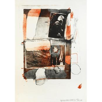 Robert Rauschenberg - Night Grip-1966