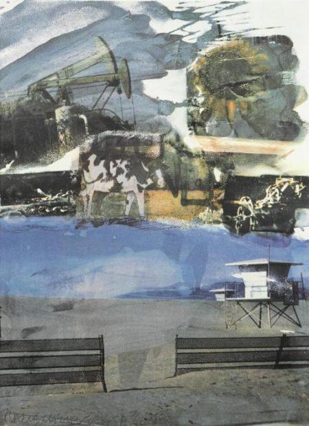Robert Rauschenberg-Robert Rauschenberg - L.A. Uncovered # 5-1998