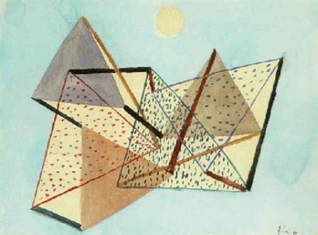 Paul Klee-Trotz Mond-1930