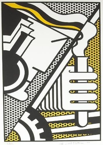 Roy Lichtenstein-Chem 1A-1970