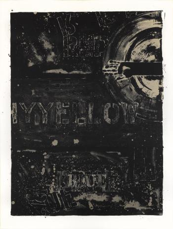 Jasper Johns-Periscope II (ULAE 201; G. 841)-1979