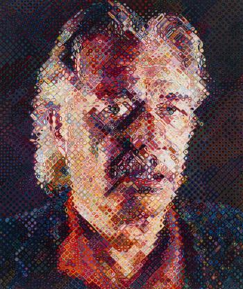 Chuck Close-John-1998