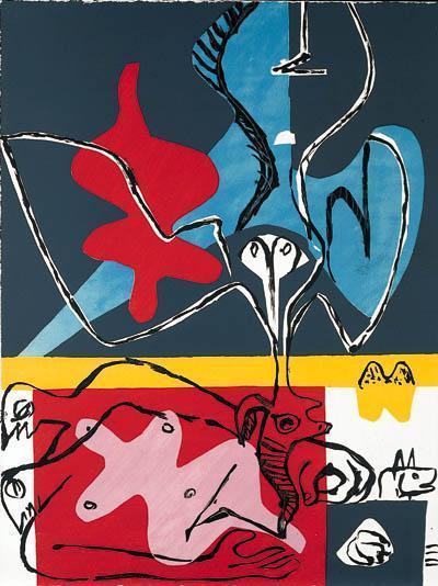 Le Corbusier-Poeme de l'Angle Droit-1955