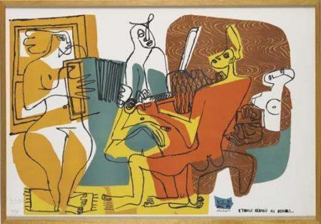 Le Corbusier-Les Musiciennes-1959