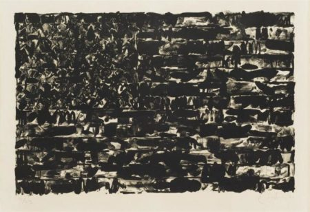 Jasper Johns-Flag I (ULAE 4)-1960