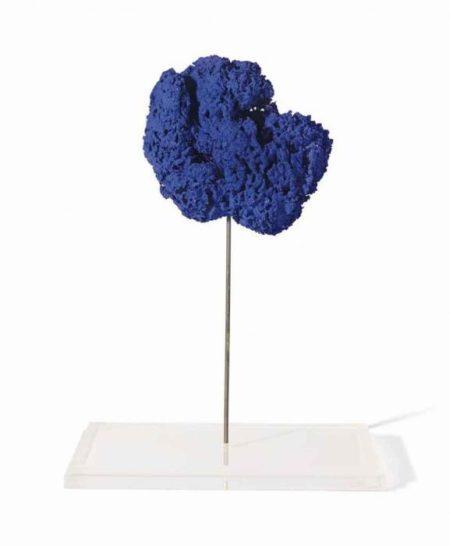 Yves Klein-Sculpture eponge sans titre (SE 217)-1961