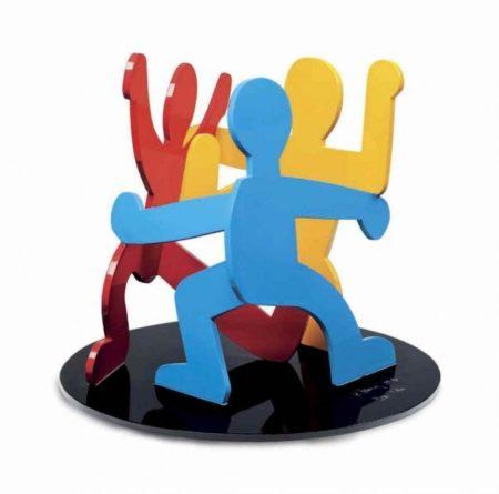 Keith Haring - Sans titre (Three Dancing Figures)-1989