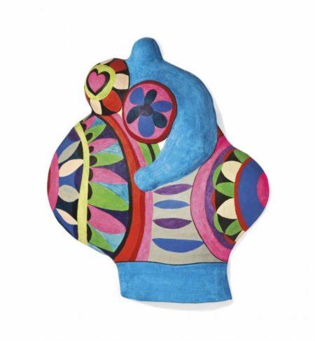 Niki de Saint Phalle-Nana pregnant (Last night I had a dream)-1968