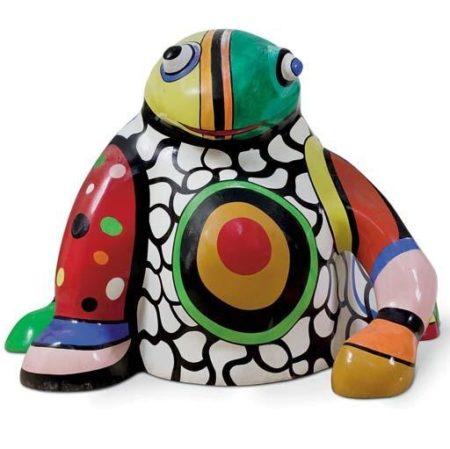 Niki de Saint Phalle-Grenouille vase-1990