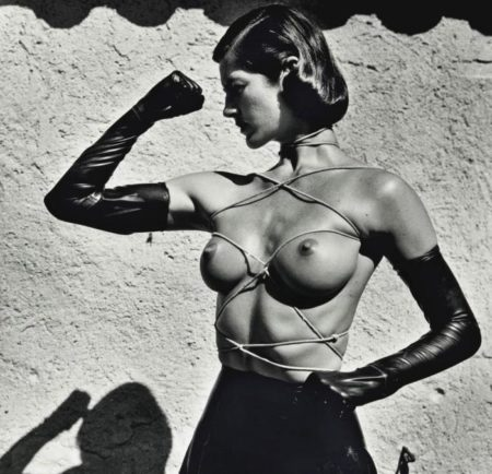Helmut Newton-Tied up torso, Ramatuelle-1980