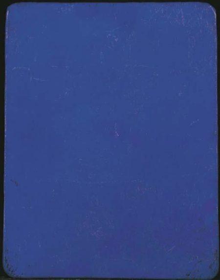 Yves Klein-Monochrome bleu-1957