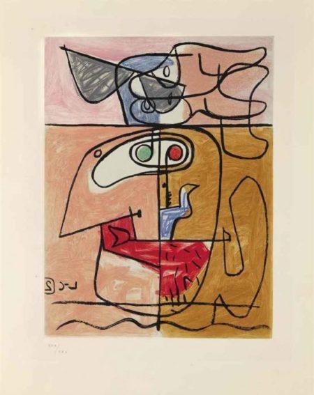 Le Corbusier-Unite, Planche 2-1963