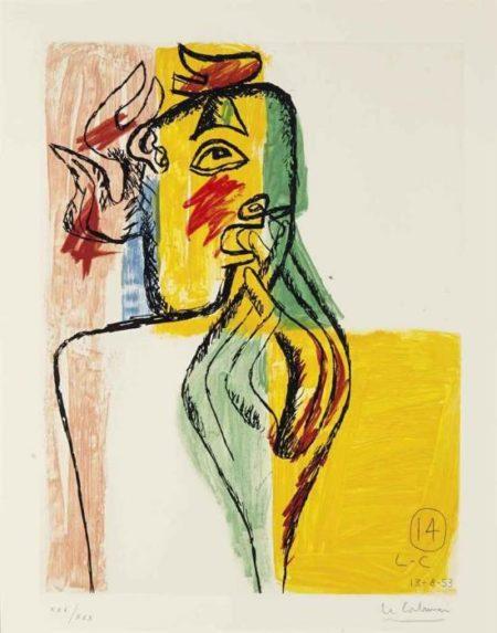 Le Corbusier-Unite, Planche 14-1963