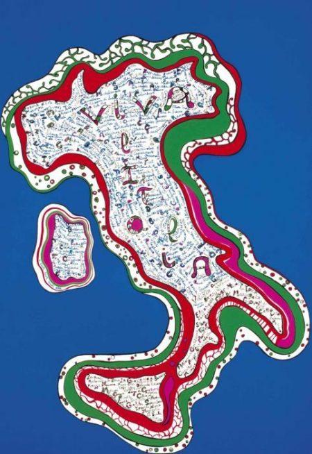 Niki de Saint Phalle-Viva l'Italia-2001
