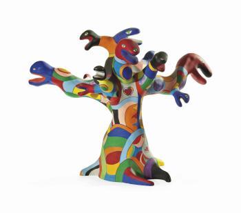 Niki de Saint Phalle-L'arbre de vie-1974