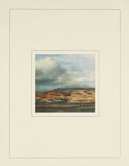 Gerhard Richter-Landschaft II (Landscape II)-1971