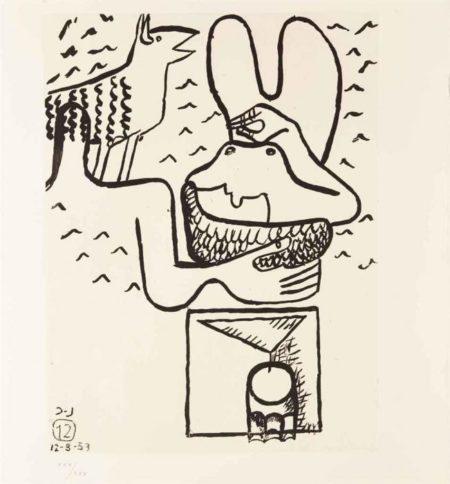 Le Corbusier-Unite, Planche 12-1963