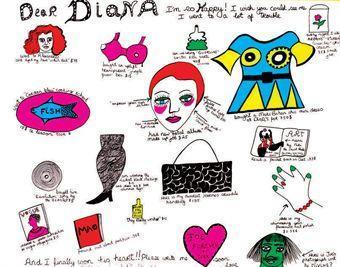 Niki de Saint Phalle-Dear Diana; Remember-