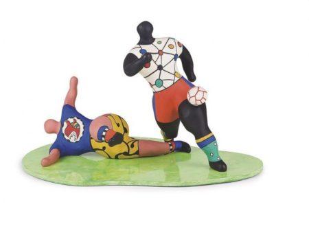 Niki de Saint Phalle-Les footballeurs, (Footballeurs)-1993