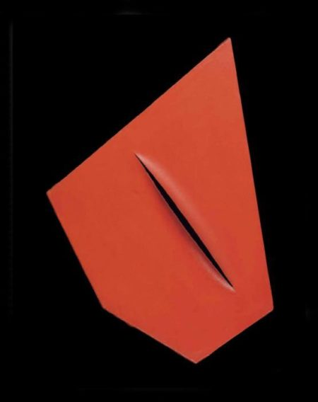 Lucio Fontana-Concetto spaziale, I Quanta-1959