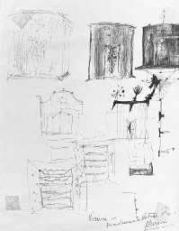 Lucio Fontana-Studio per le cappelle-1951