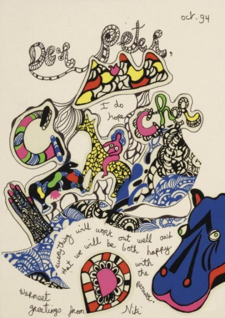 Niki de Saint Phalle-Der Peter, I Hope Everything Will Work Out Well-1994