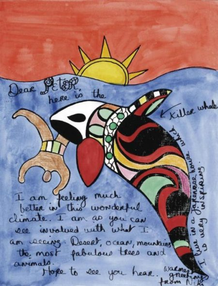 Niki de Saint Phalle-Here is the killer whale-