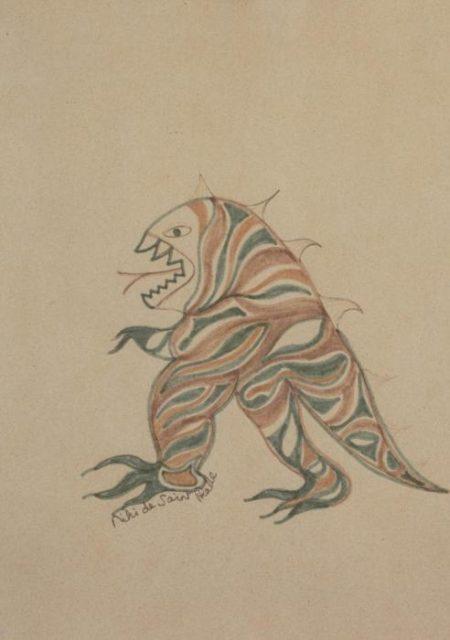 Niki de Saint Phalle-Little monster-