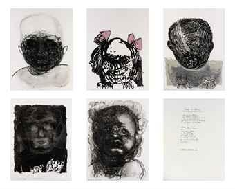 Marlene Dumas-Fear of Babies-1986