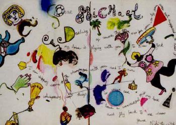 Niki de Saint Phalle-Dear Michael, Letter from Niki to Michael-