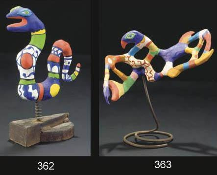 Niki de Saint Phalle-Magic Bird - Le Rossignol-1981