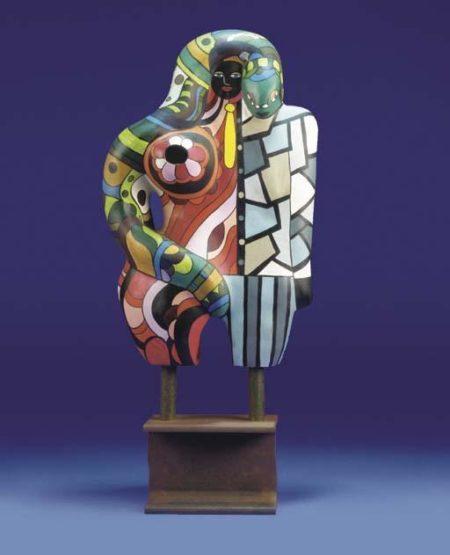 Niki de Saint Phalle-Adam et Eve (avec jambes coupees)-1977