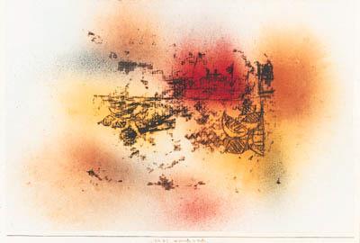 Paul Klee-Der Dampfer Im Hafen-1925
