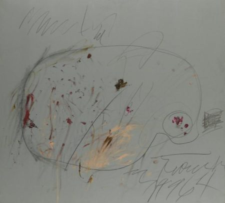 Cy Twombly-Rome-1964
