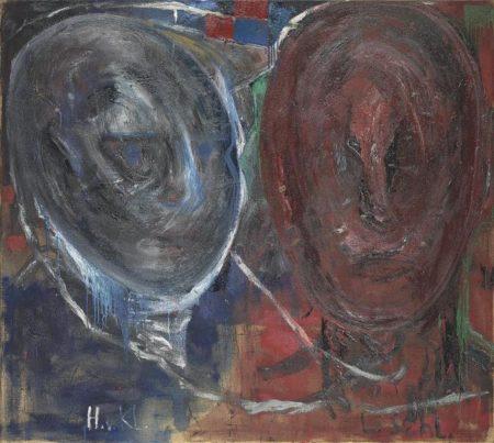 Anselm Kiefer-Heinrich Von Kleist Und Leo Schlageter (H.V.KL./L.SCHL)-1978