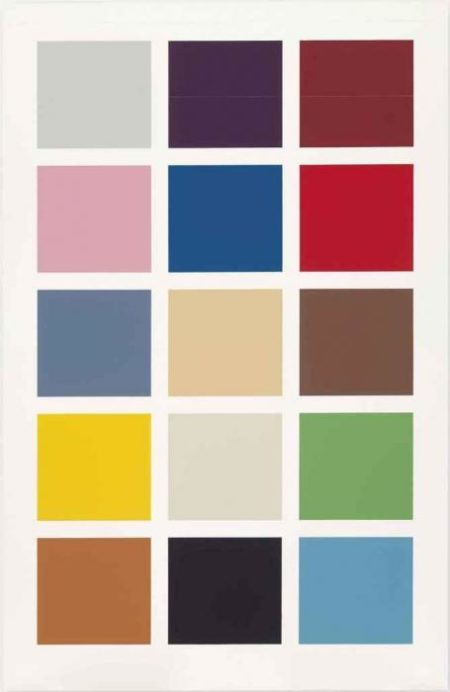 Gerhard Richter-15 Farben (15 Colours)-1996