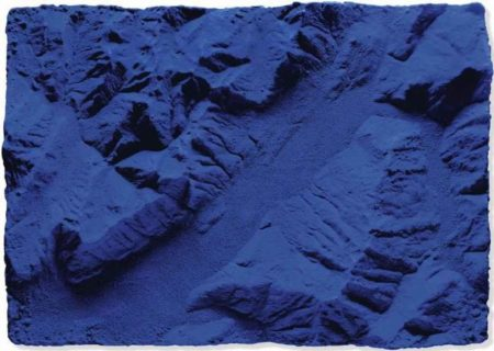 Yves Klein-Relief planetaire (RP 9)-1961
