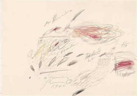Cy Twombly-Untitled-1964