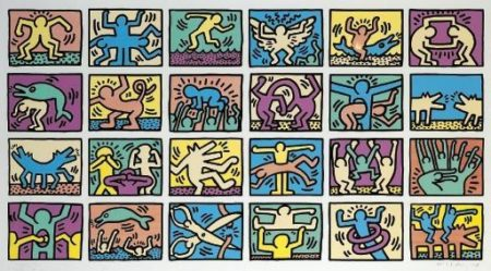 Keith Haring-Keith Haring - Retrospect (L. p. 120-1)-1989