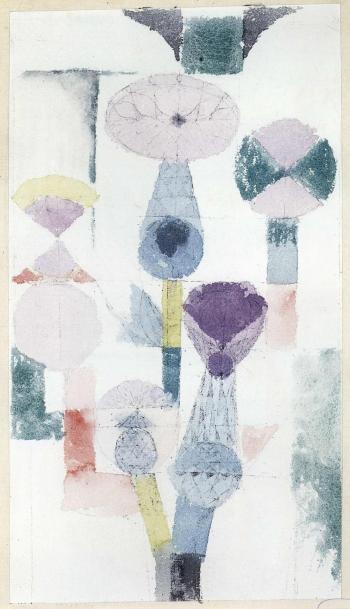 Paul Klee-Distelblute-1918