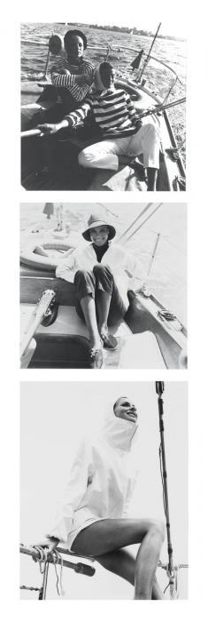 Helmut Newton-Sailing fashion-1960