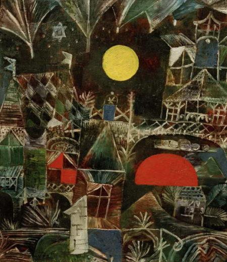 Paul Klee-Mondauf - Sonnenuntergang-1919