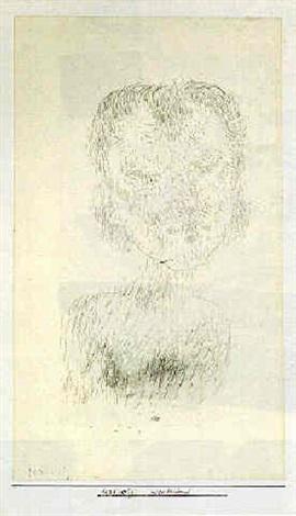 Paul Klee-Mildleidend (Passive Lady)-1925