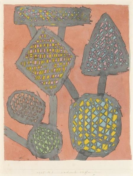 Paul Klee-Wachsende Waffen-1935
