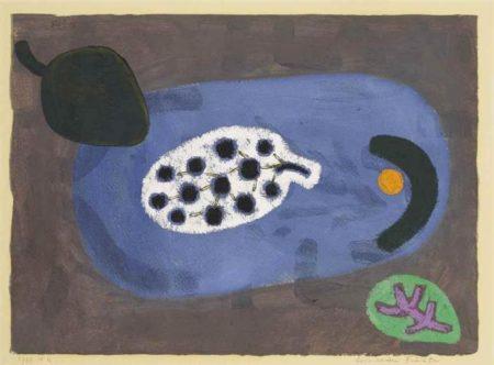 Paul Klee-Uber Seeische Fruchte (Fruits From Overseas)-1938