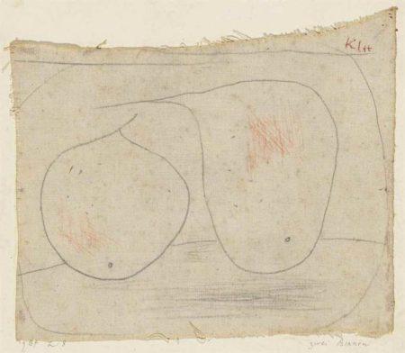 Paul Klee-Zwei Birnen (Two Pears)-1934