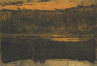 Peter Doig-Canoe Lake-1997