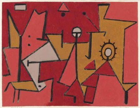 Paul Klee-Hitze-1940